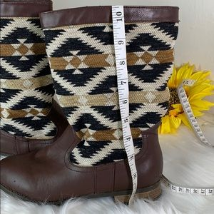 Forever 21 Shoes - Forever 21 Aztec design Boots